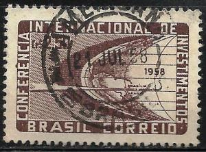 Brazil 1958 Scott# 873 Used