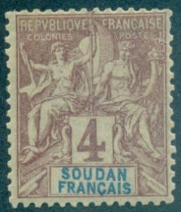 French Sudan #5  Mint  Scott $6.00