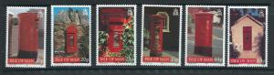 Isle of Man MUH SG 824 - 829