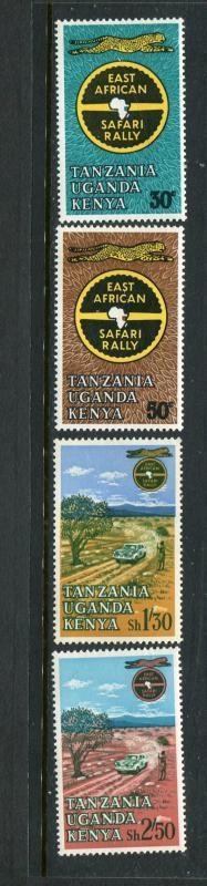 Kenya MNH 148-51 East African Safari Rally