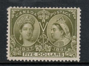 Canada #65 Mint Fine - Very Fine Full Original Gum Hinge Remnant