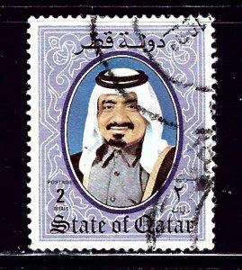 Qatar 709 Used 1988 issue