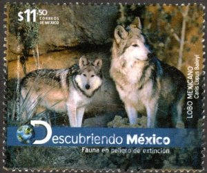 Mexico 2786 - Used - $11.50p Mexican Wolves (2012) (cv $2.25)