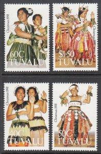 Tuvalu 582-585 MNH VF