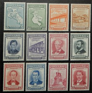 Costa Rica C256-72. 1957 War of 1856-57 Centenary