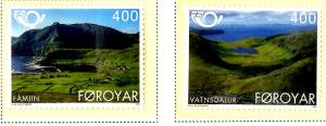 Faroe Islands 280-2 MNH SCV $3.00