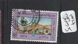 KUWAIT  (P0705B)  HADJ  SG 608   VFU