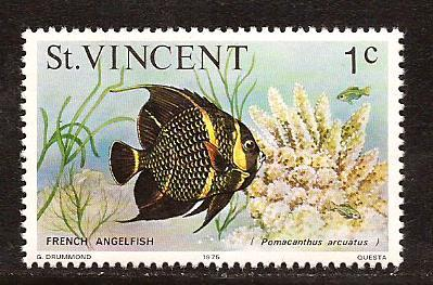St Vincent  #  407  Mint  N H