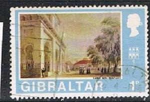 GIBRA:TAR 190375 - 1971 1p Then & Now used single