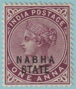 INDIA NABHA 13 MINT HINGED OG*   NO FAULTS VERY FINE