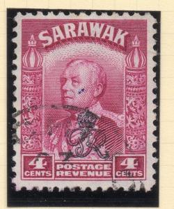 Sarawak 1947 Early Crown Colony Issue Fine Used 4c. 107479