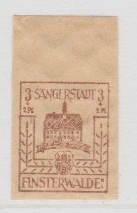Finsterwalde WWII Germany World War II Local Stamp 1946 3+2pf MNH** A20P4F169