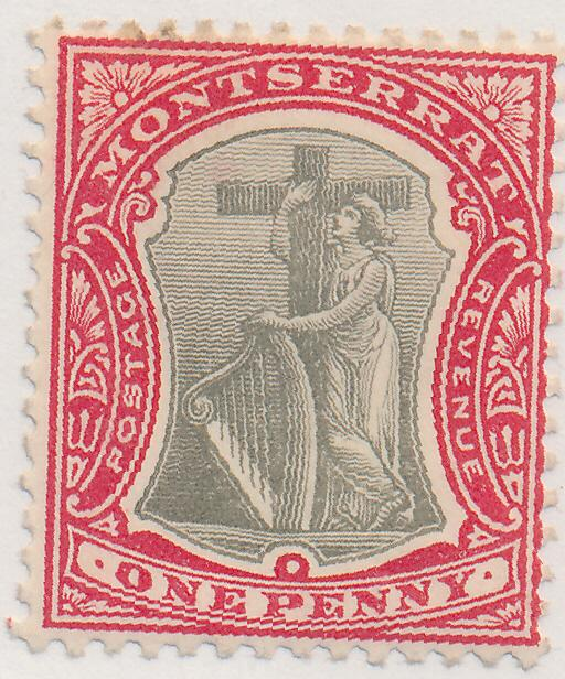 Montserrat Stamp Scott #13, Mint Hinged - Free U.S. Shipping, Free Worldwide ...