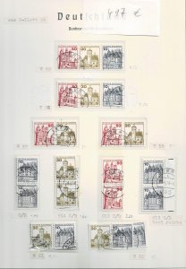 Germany 1977, Michel# HBl. 26 used