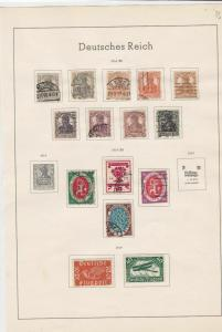 germany 1916/20 stamps page ref 17692
