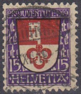 Switzerland #B14 F-VF Used CV $7.25 (A10169)