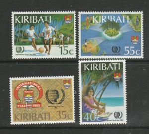 Kiribati 1985 Youth Year UM/MNH SG 241/4