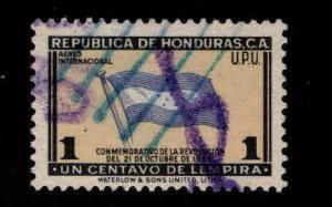 Honduras  Scott Co88 used flag stamp