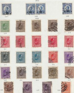 slovenia stamps page ref 16838