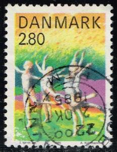 Denmark #780 Gymnastics; Used (0.30)