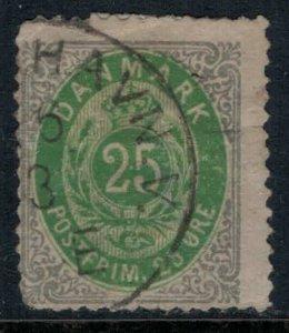 Denmark #32  CV $40.00