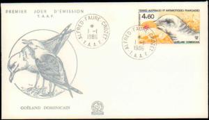 French Southern and Antarctic Terr., Worldwide First Day Cover, Birds