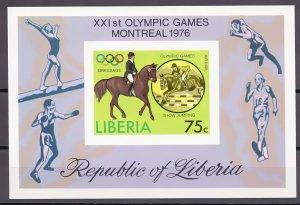 Liberia. 1976. 990B-95B BL80B 6LB. Sports OI. MNH.