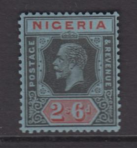 Nigeria -Scott 30 - KGV Definitive - 1921 - MVLH - Single 2/6p Stamp
