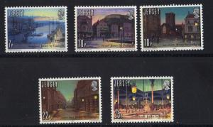 Jersey  1981  MNH  Gas lighting    complete