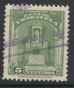 Venezuela 1947 5c used South America A4P53F38
