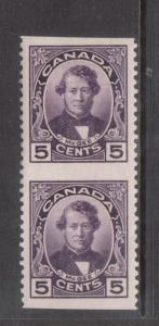 Canada #146c Extra Fine Never Hinged Imperf Pair