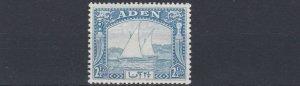 ADEN  1937  S G  5   2 1/2A  BRIGHT BLUE        MH