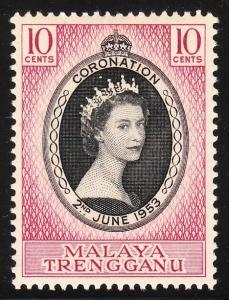 Malaya Trengganu 74 -  FVF MNH
