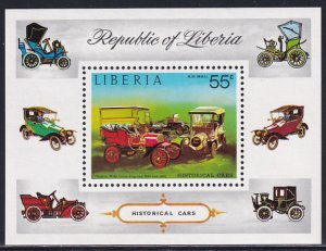 Liberia 1973 Sc C199 Historical Cars Franklin Automobiles Airmail Stamp SS MNH