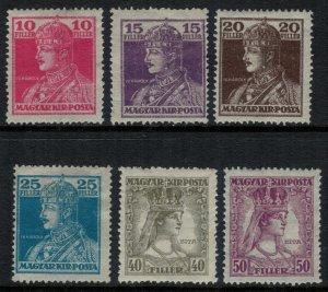 Hungary #127-32*  CV $2.10