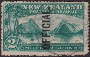 New Zealand 1907 SC O29 Used