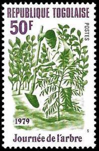 Togo SC 1029 - Man Planting  - MNH -1979