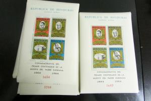 Honduras # 376A NH Lot of 45 Stamp S/S Great Find Scott Value $900.00