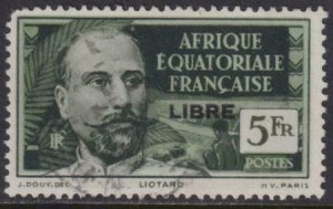 French Equatorial Africa 1941 SC 121 Used