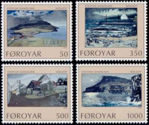 STAMP STATION PERTH Faroe Islands #212-215 Fa209-212 MNH CV$5.85