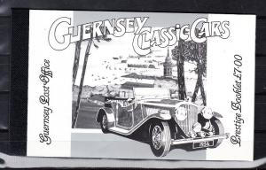 Guernsey Scott 531a-535a Mint NH booklet (Catalog Value $29.50)