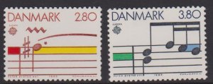 Denmark Sc#773-774 MNH