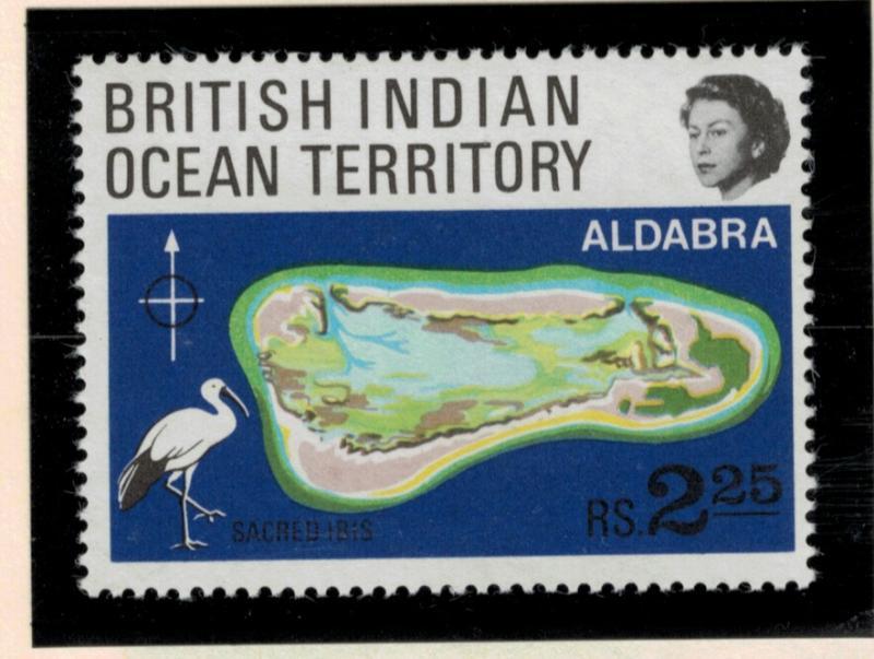 British Indian Ocean Territory (BIOT) Stamp Scott #34, Mint Never Hinged MNH ...