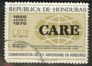 Honduras  Scott C585 Used Care airmail stamp