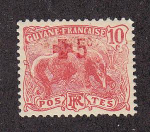 French Guiana Scott #B2 MH