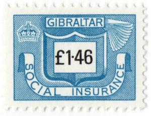(I.B) Gibraltar Revenue : Social Insurance £1.46