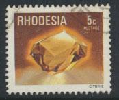 Rhodesia   SG 558 SC# 396  Used Gemstones Citrine see details