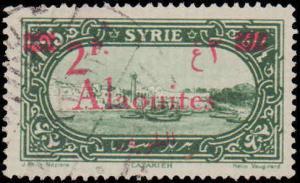 1925 Alaouites #47, Incomplete Set, Used