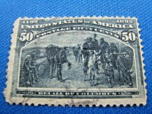 UNITED STATES,  1893   SCOTT #240   -  Used