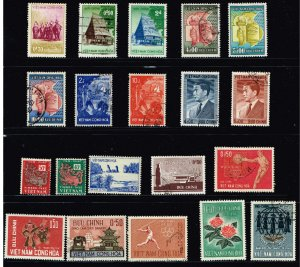 VIETNAM STAMP COLLECTION LOT  #M1